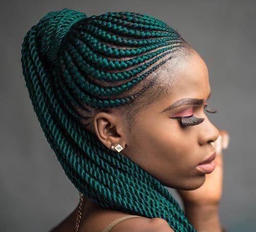 Hairstyles Ghana Weaving 13 Trendiem