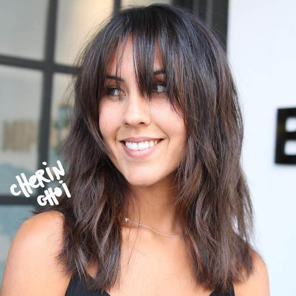 Are Hairstyles With Bangs In 15 Trendiem Hairstyles Haircuts 2021