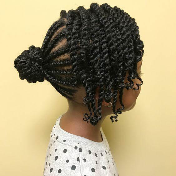 10 Yr Old Black Girl Hairstyles - 14+ | Trendiem ...
