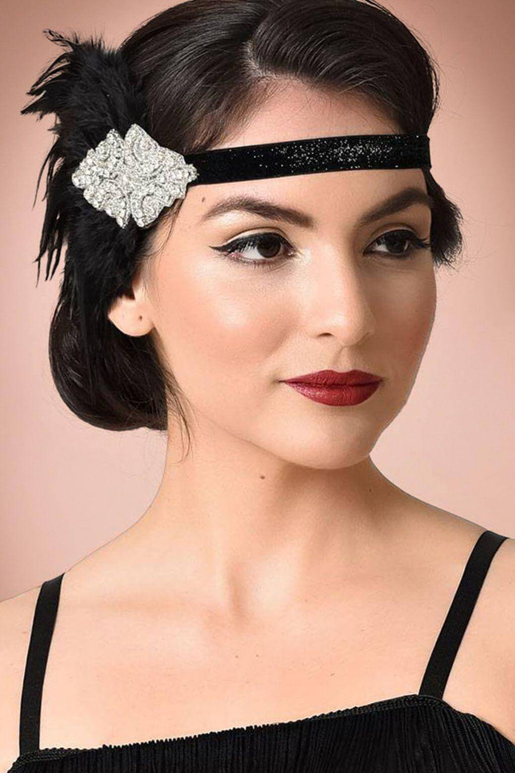 1920s Hairstyle With Headband - 14+   Hairstyles   Haircuts