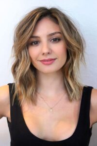What should be considered in hairstyles with a square face